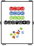 Magnetic Word Work
