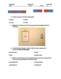 Magnetic and Electricity Test