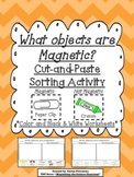 Magnetic and Not Magnetic Cut and Paste Sorting Activity