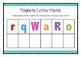 Magnetic letter match