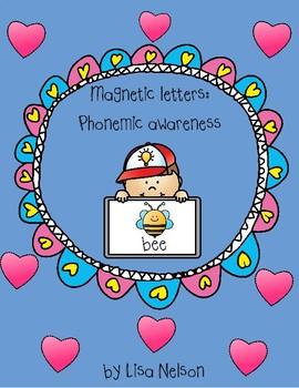 Magnetic letters: phonemic awareness