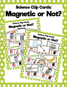 Magnetic or Not? Clip Cards