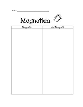Magnetic/Non-Magnetic Sort