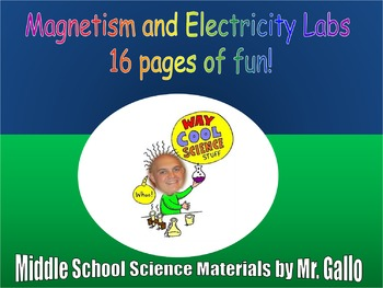 NGSS ES./MS./HS. Magnetism and Electricity Labs