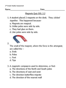 Magnetism Assessment