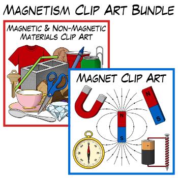 Magnetism Clip Art Bundle
