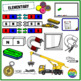 Magnet and Electromagnet Clipart (Magnetic Field, Electromagnet)