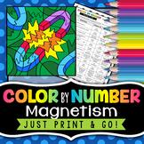Magnetism - Color By Number