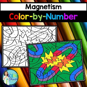 Magnetism Color-by-Number