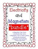 Electricity & Magnetism *BUNDLE*  (Task Cards, Worksheets, I Have, Who Has?)