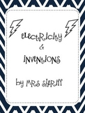 Magnetism, Electricity, & Inventions  {CCSS ELA Integrated Unit}