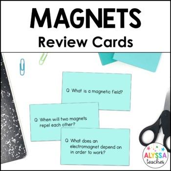 Magnetism Flash Cards