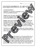 Magnetism & Gravity Worksheet