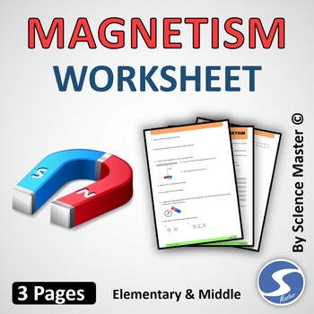 Magnetism Check Out The Cool Science Worksheet Teaching ...