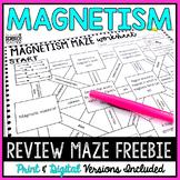 Magnetism Maze Worksheet [FREE]