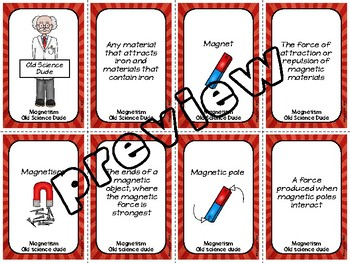 Magnetism Old Science Dude Game