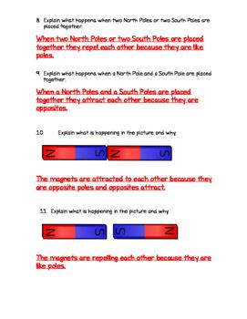 Magnetism Quiz