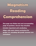 Magnetism Reading Comprehension