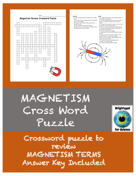 Magnetism Review Crossword Puzzle