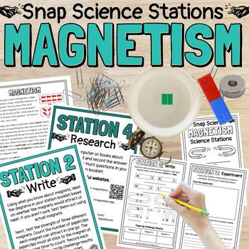 Magnetism Science Stations (Magnets)