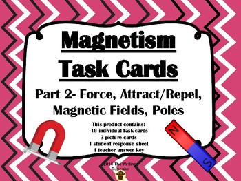 Magnetism Task Cards Part 2 (FOSS)