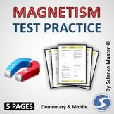 Magnetism Test Prep