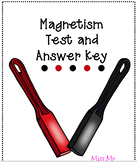 Magnetism Test with Answer Key
