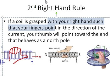 Magnetism: The Right Hand Rule (Physics Electricity)