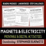 Magnets and Electricity Unit Activities | Printable & Digital | Immersive Reader