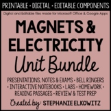 Magnets and Electricity Unit Bundle - Distance Learning