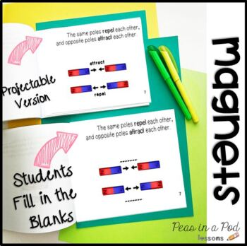 Magnets Activities Science for kindergarten, first grade, second grade