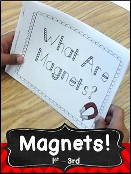 Magnets Activities Science for kindergarten, first grade, second grade