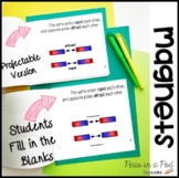 Magnets Activities ⭐️ Magnet Worksheets ⭐️ Magnets Distance Learning Packet