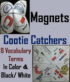 Magnets and Magnetism Activity/ Foldable (No Prep SCOOT Unit Review Game/ Quiz)