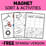 Magnets Sort Activities