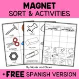 Magnets Sort Activities