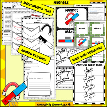 Magnets: 2nd Grade Science Complete Lesson Set