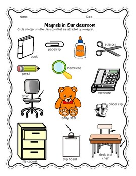 Magnets  - 3 Activities