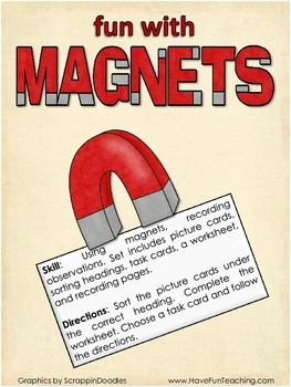 Magnets Activity