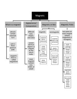 Magnets Advance Organizer