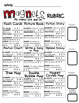 Choice Board: Magnets Choice Board with Rubric & Graphic O
