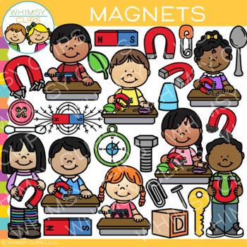 Magnets Clip Art