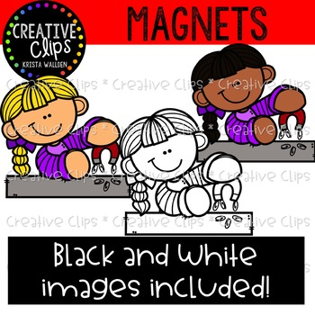 Magnets Clipart {Creative Clips Clipart}