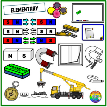 Magnets Clipart (Elementary Standards)