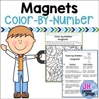 Magnets Color-By-Number