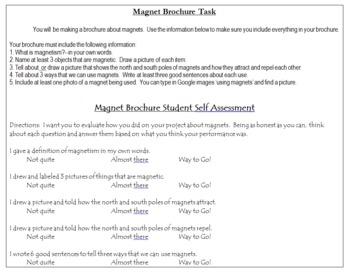 Magnets Digital Brochure and Rubric