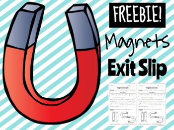 Magnets Exit Slip **EDITABLE**