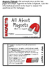 Magnets Flipbook  (Interactive Notebooks)