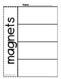 Magnets Graphic Organizers (Bilingual)