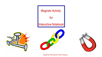 Magnets Interactive Notebook Activity